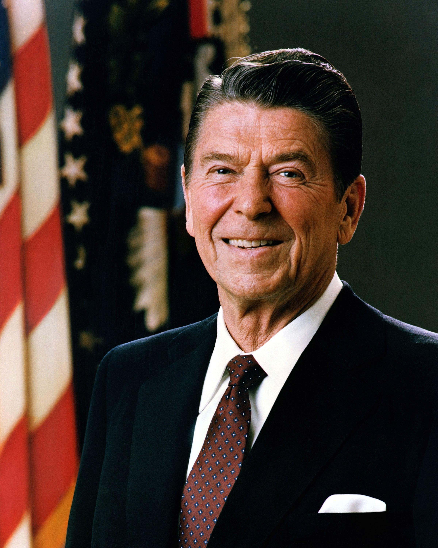 Президент Рональд Рейган