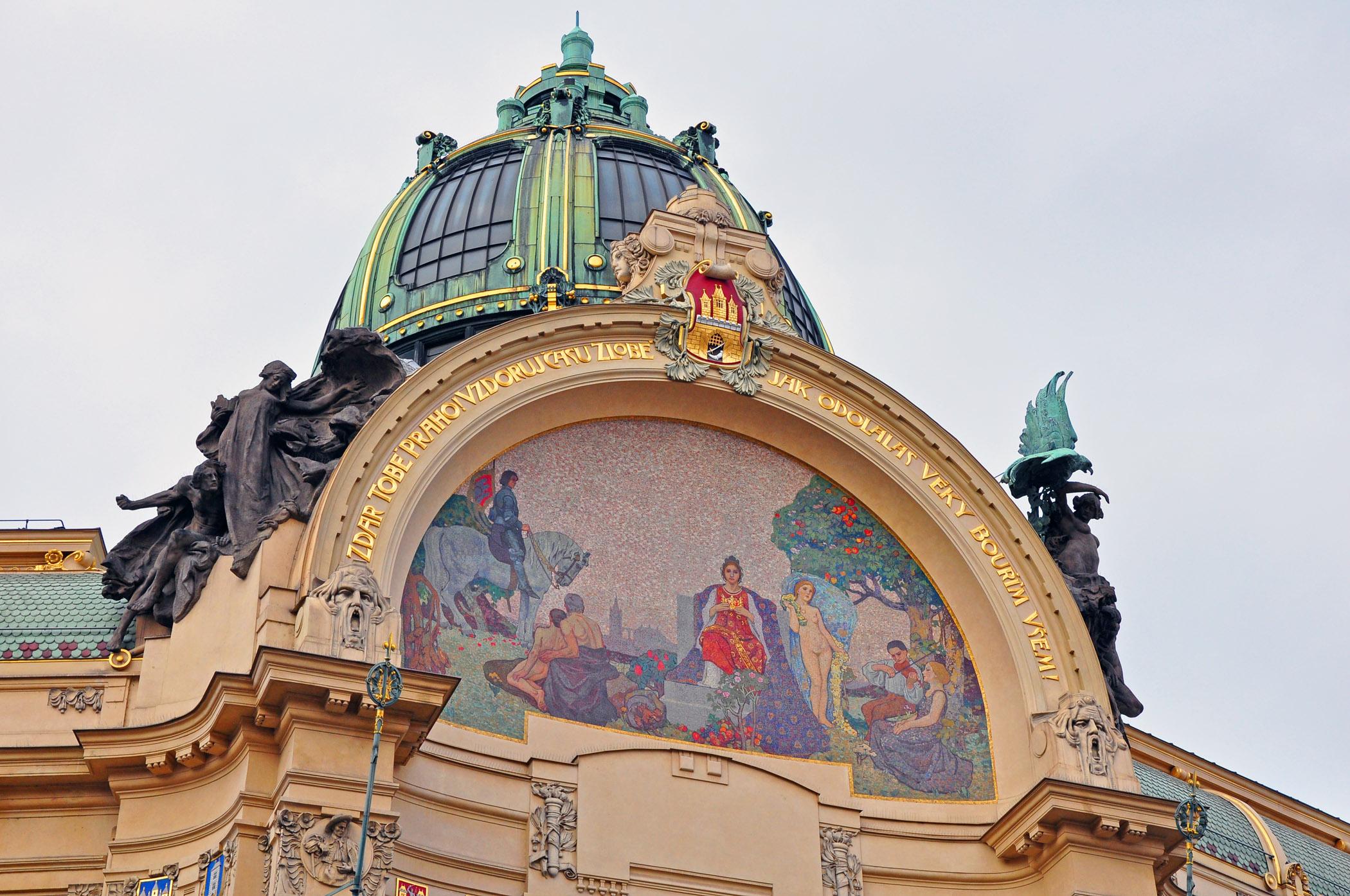 1. Municipal Building in Prague