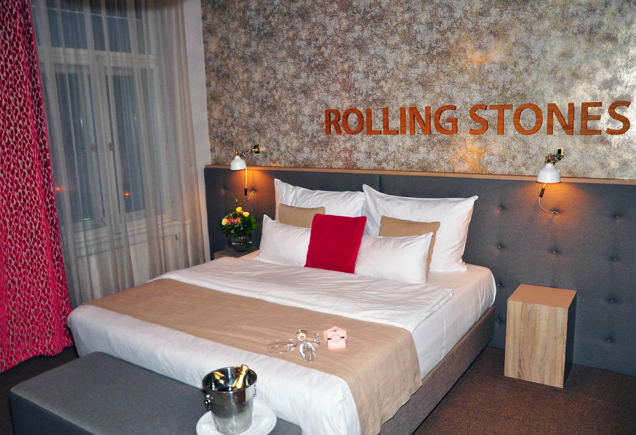 3. A room at Hotel Klarov