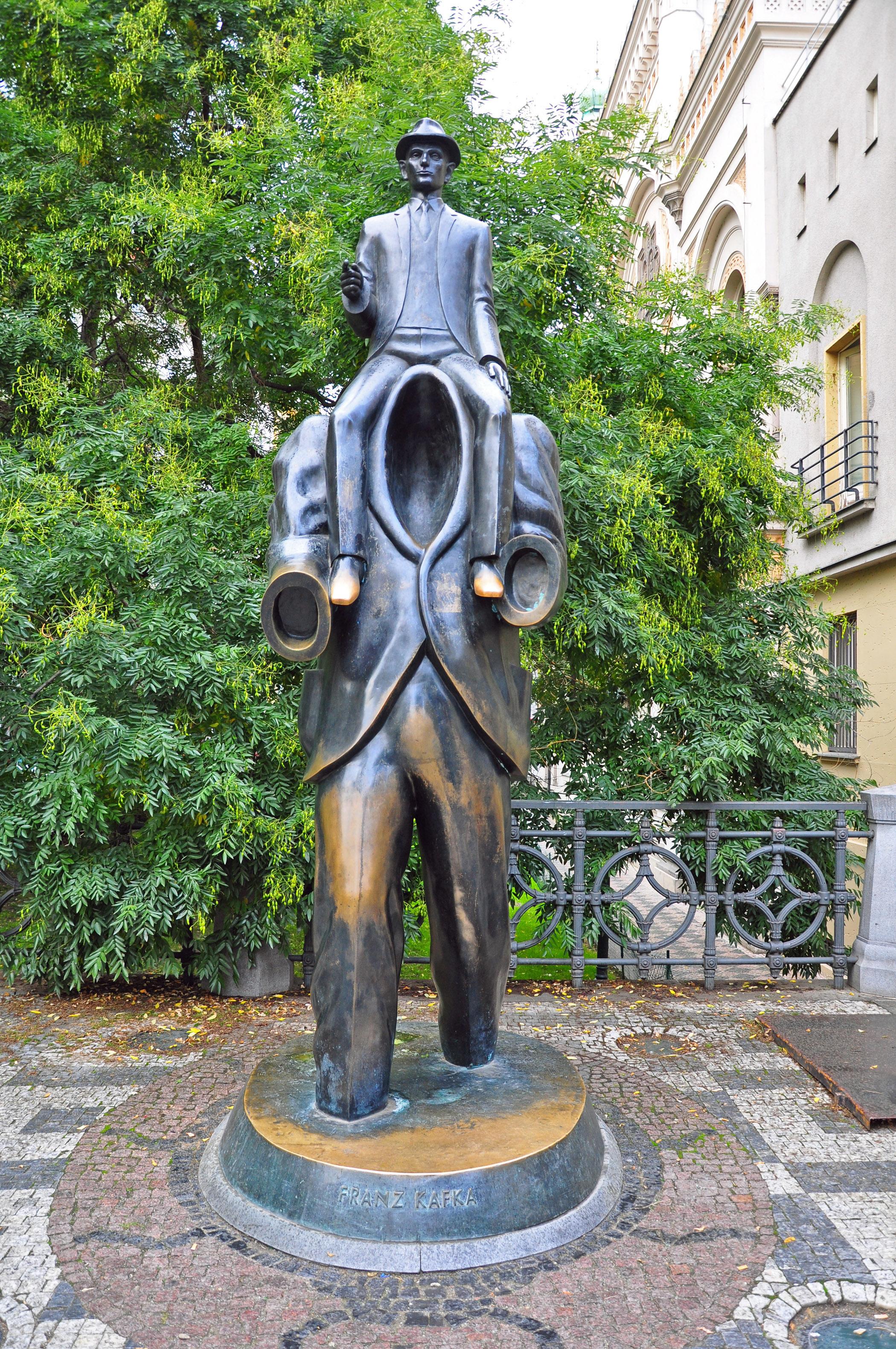 4. Kafka monument
