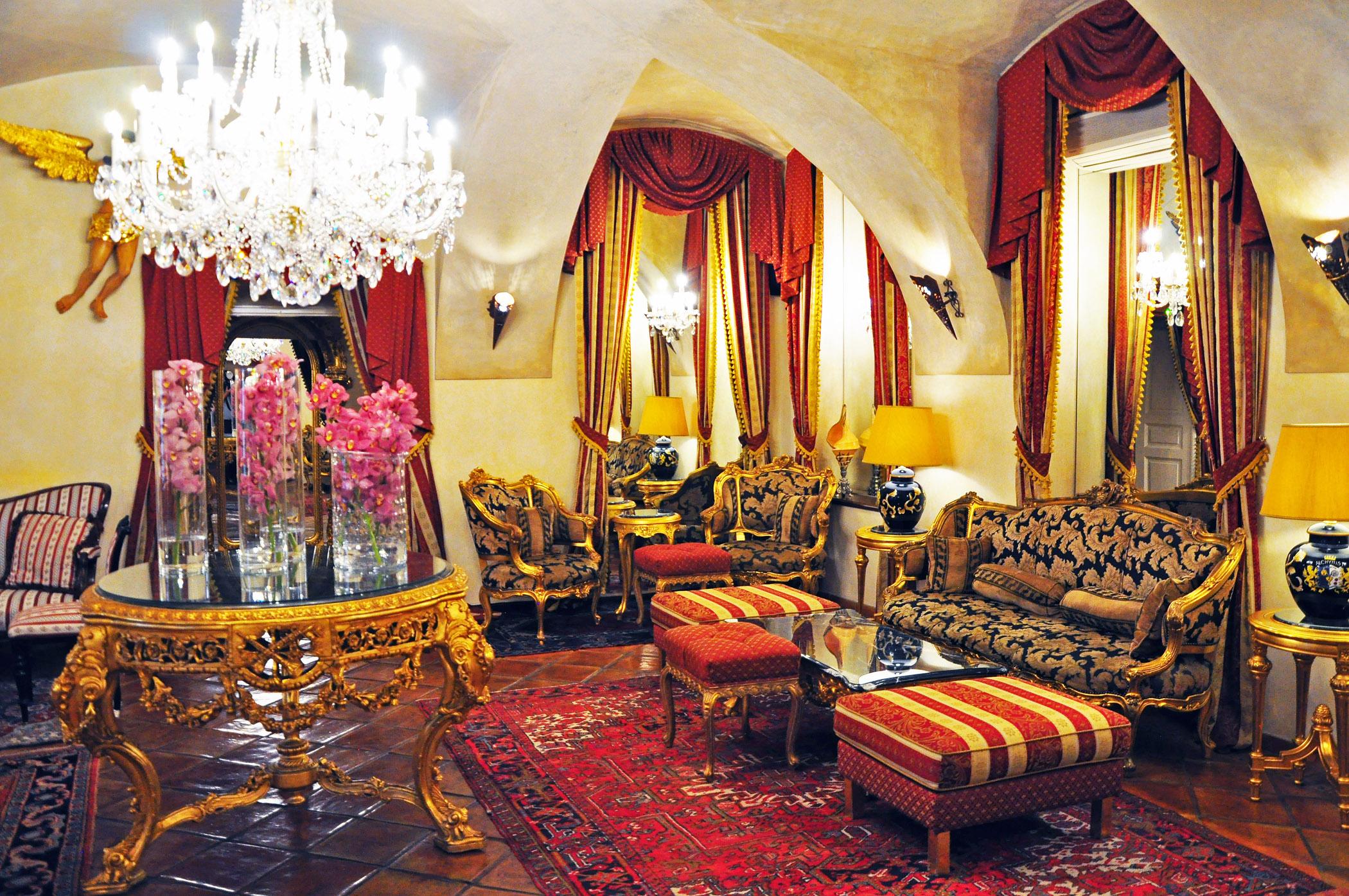 6. Alcymist Hotel lobby