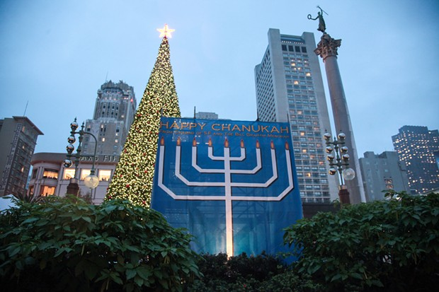 Menorah San Francisco Union Square