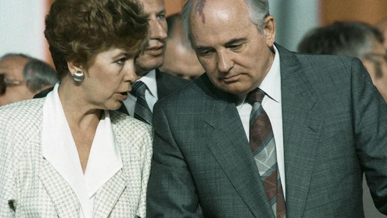 Михаил и Раиса Горбачевы. Фото: РИА «Новости»