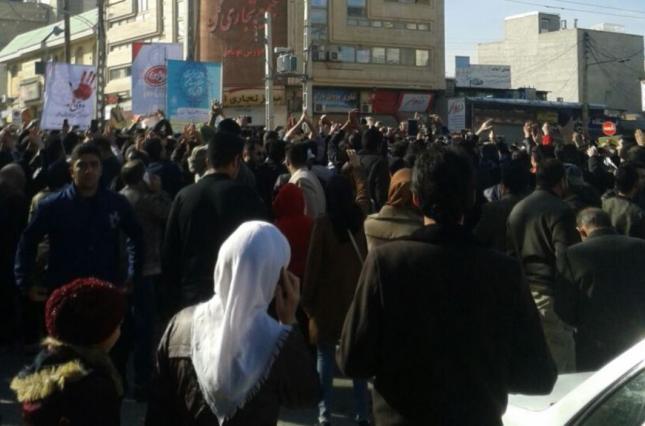 Протесты в Иране продолжаются