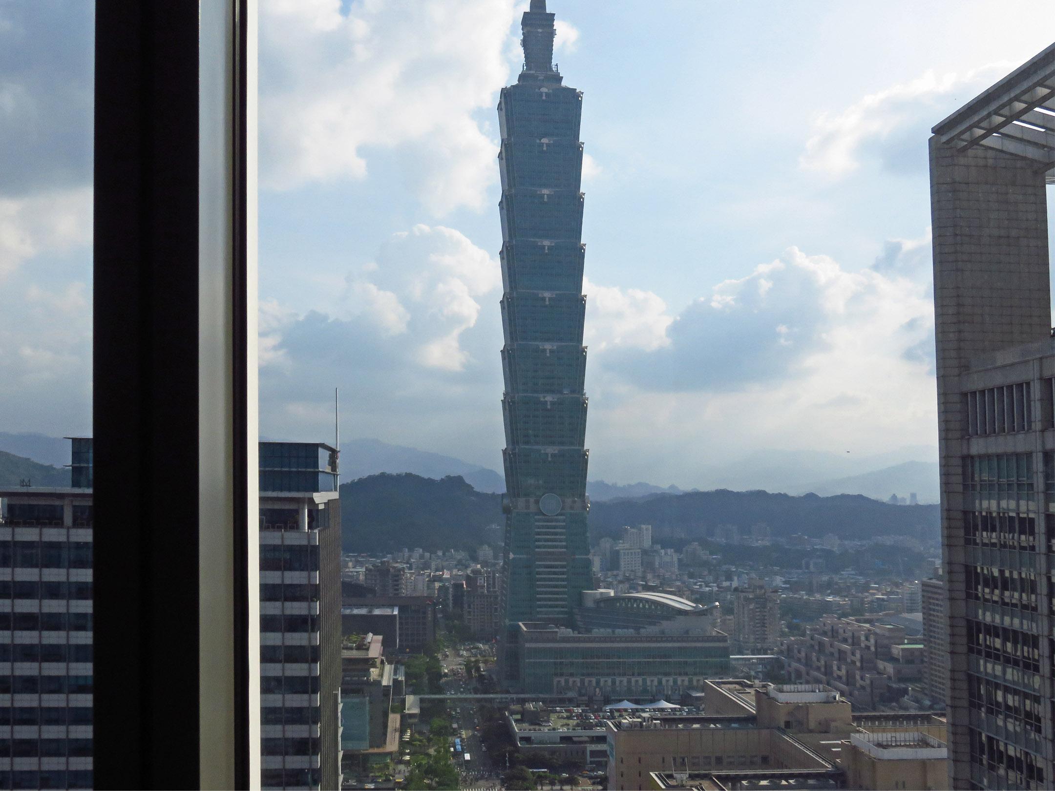 3. A view of Taipei 101