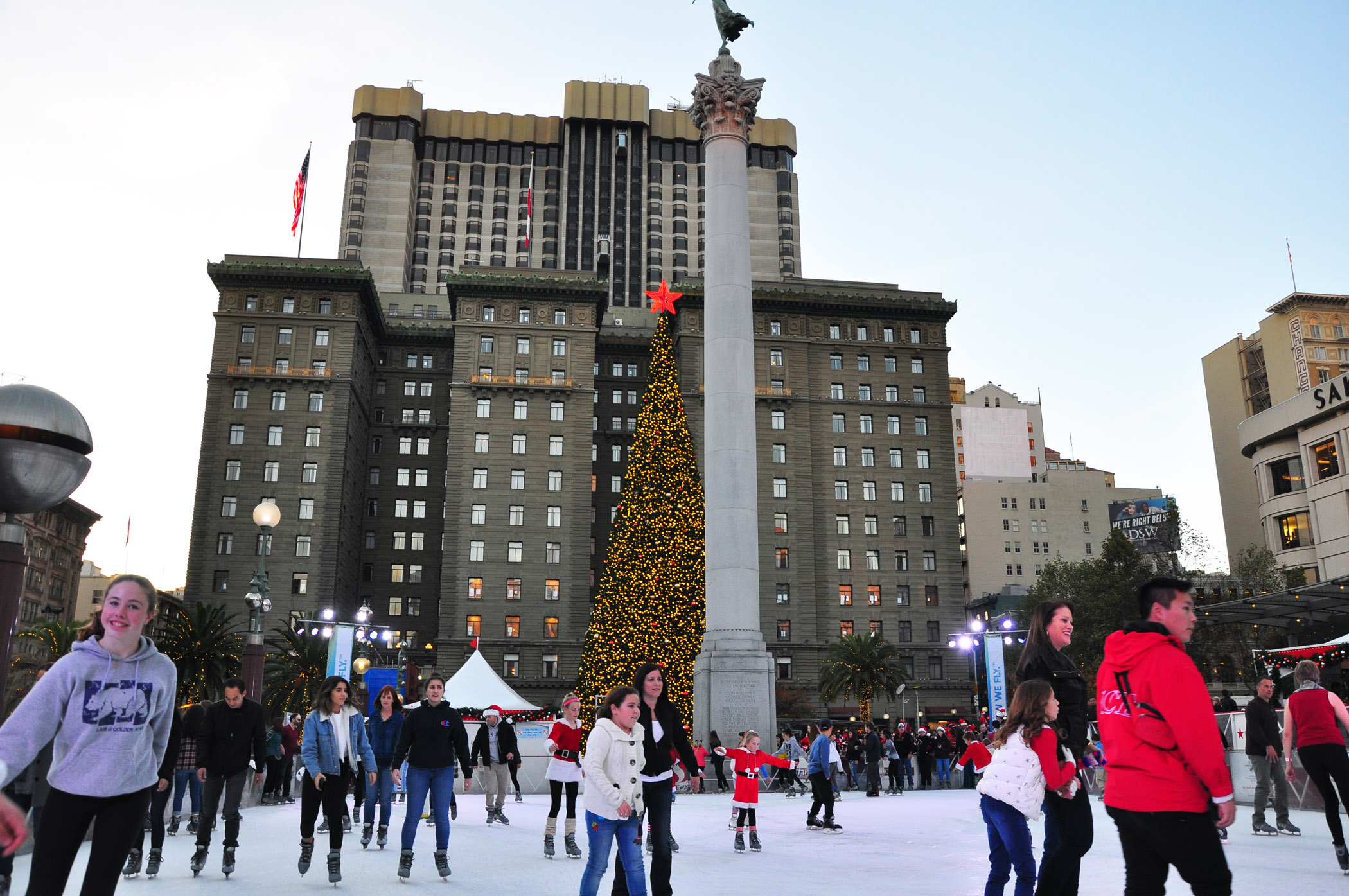 3. Holiday Ice Rink