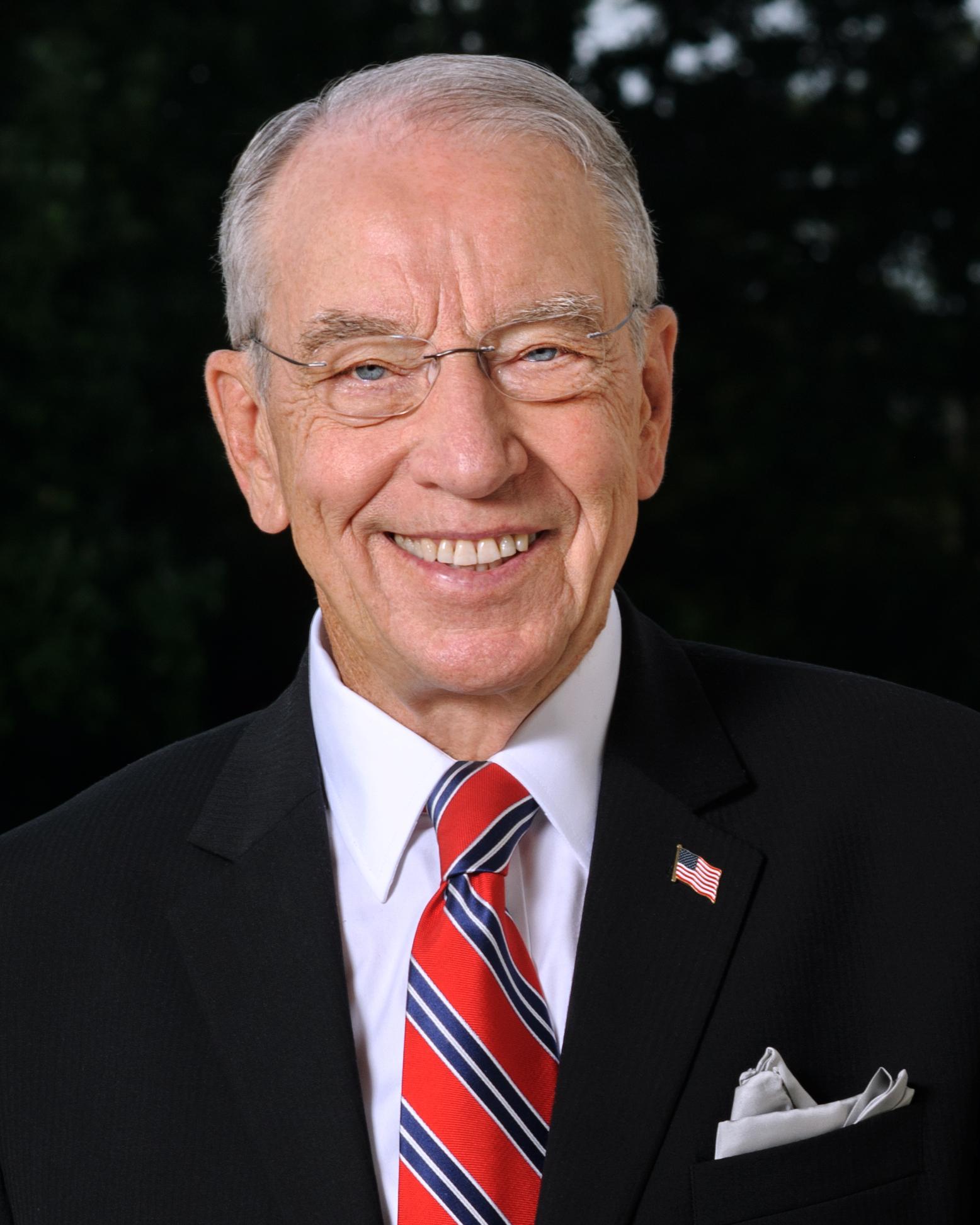 Чарльз Грэссли. Фото: United States Congress