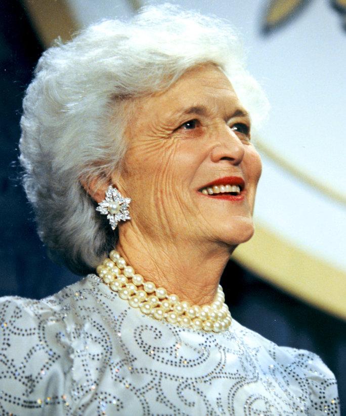 Первая леди Барбара Буш