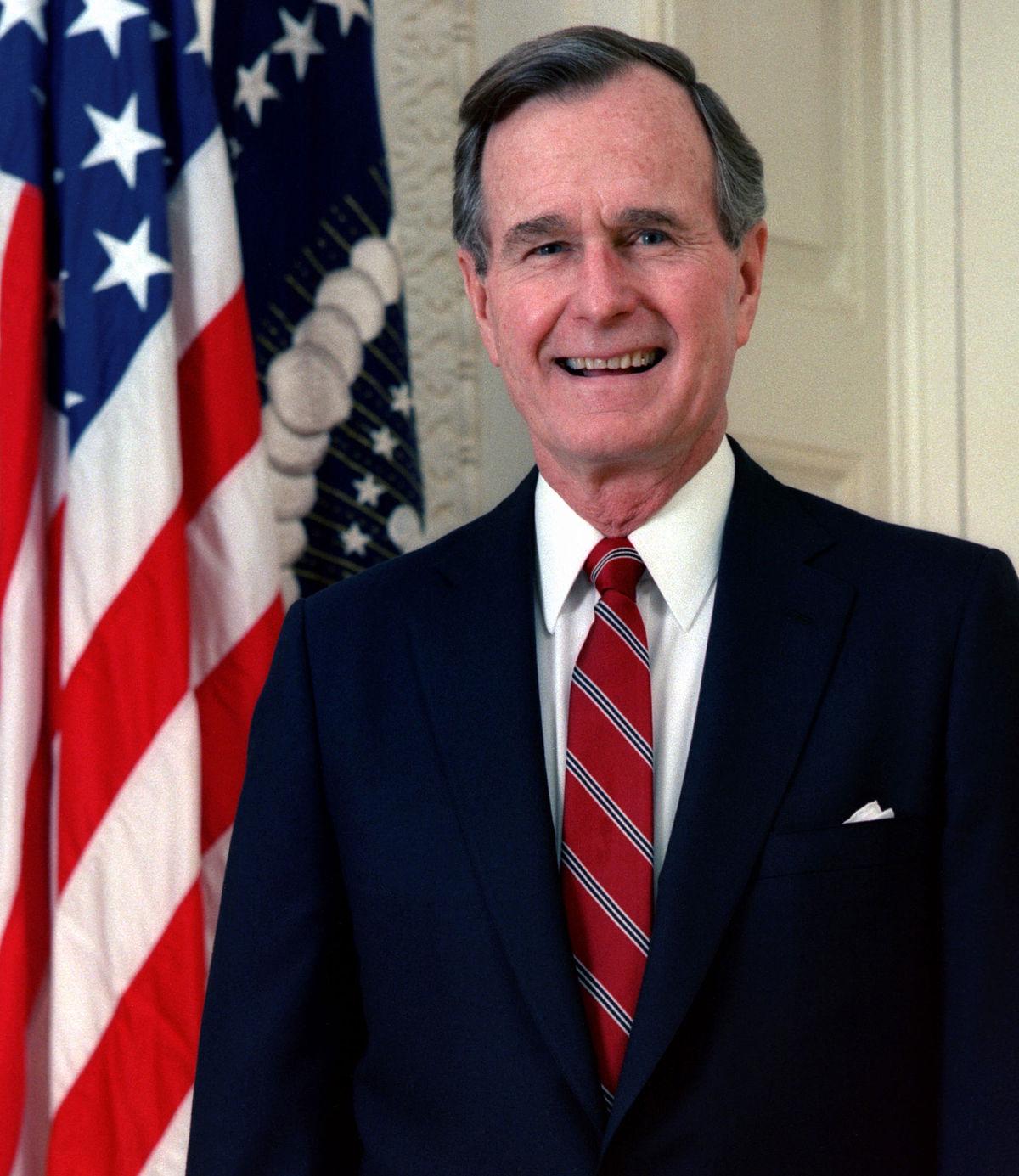 Президент Джордж Г.У. Буш.
