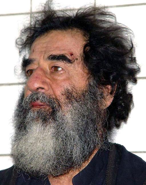 Саддам Хусейн после ареста